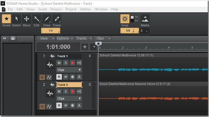 Sonar Home Studio 01