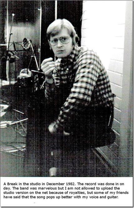 The Break In the Studio in 1982