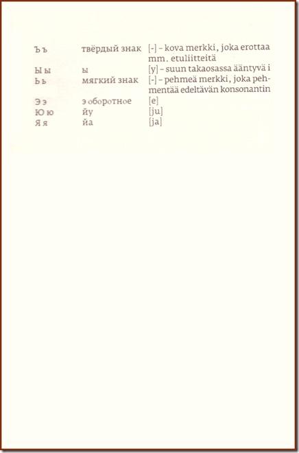 Venäjän kielen aakkoset 02